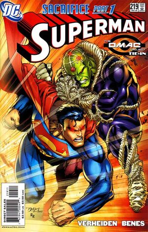 Cover for Superman #219 (2005)
