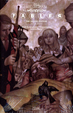 Cover for the Fables: The Deluxe Edition - Book Eight Trade Paperback
