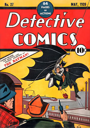 Cover for Detective Comics #27 (1939)