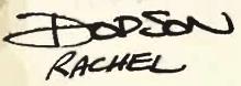 Rachel Dodson Signature