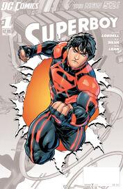 Superboy Vol 6 0 Textless