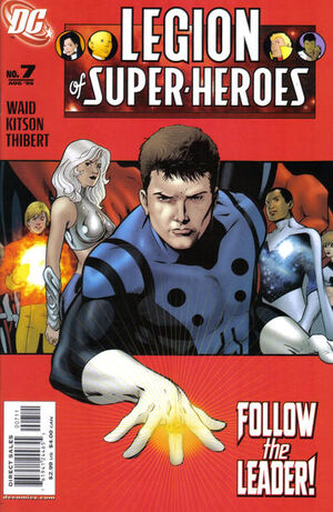 Cover for Legion of Super-Heroes #7 (2005)