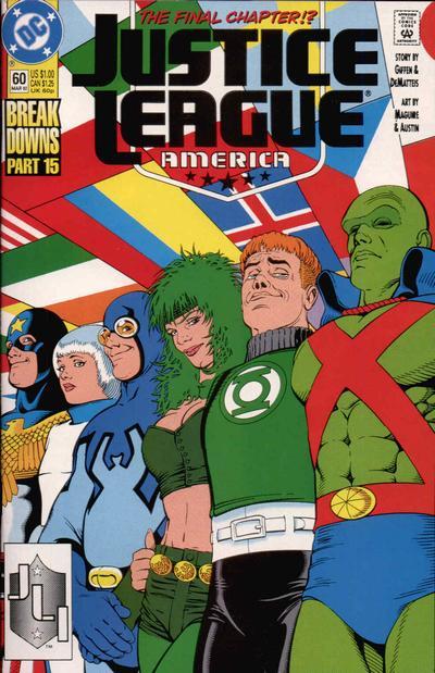 Justice League America Vol 1 60   DC Database   FANDOM ...