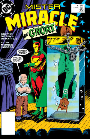 Cover for Mister Miracle #6 (1989)