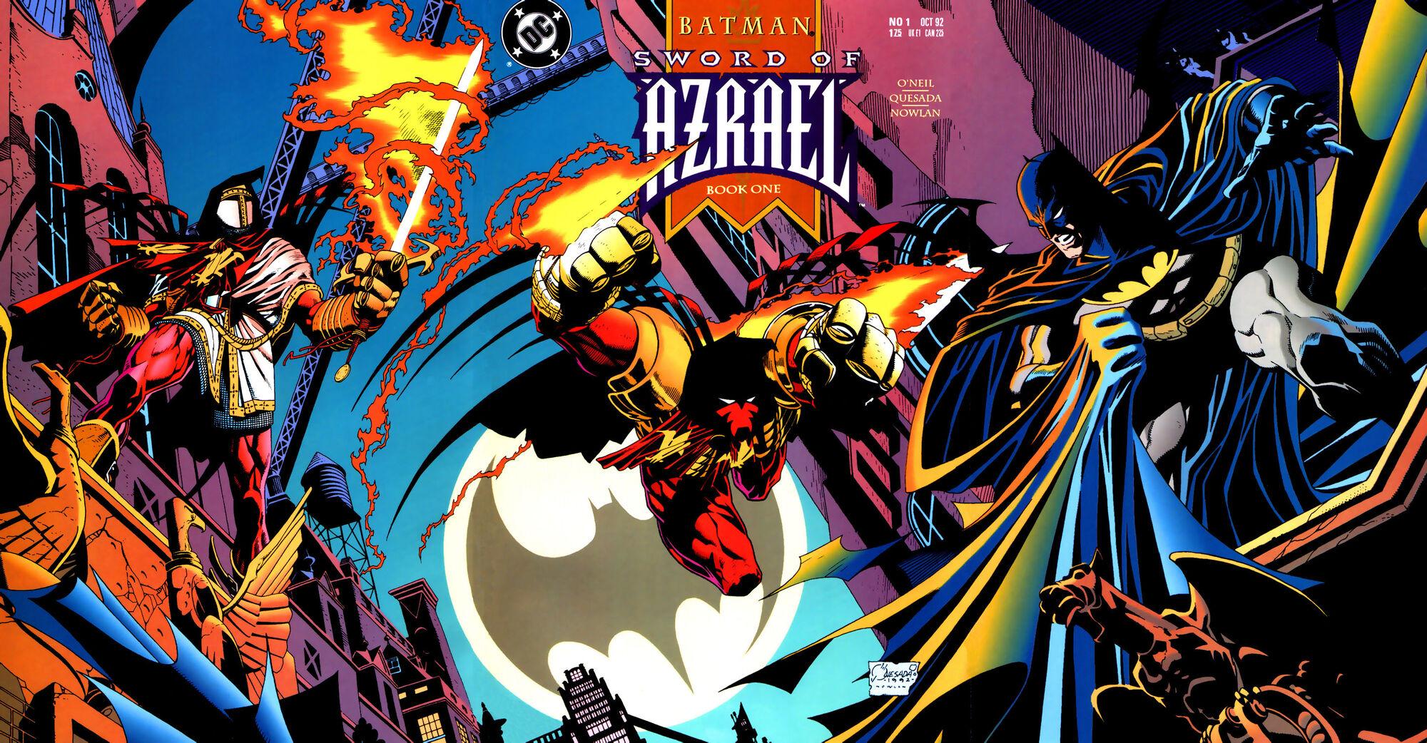 Batman Arkham Knight Figure – Azrael Action Figure | Lil Monsters