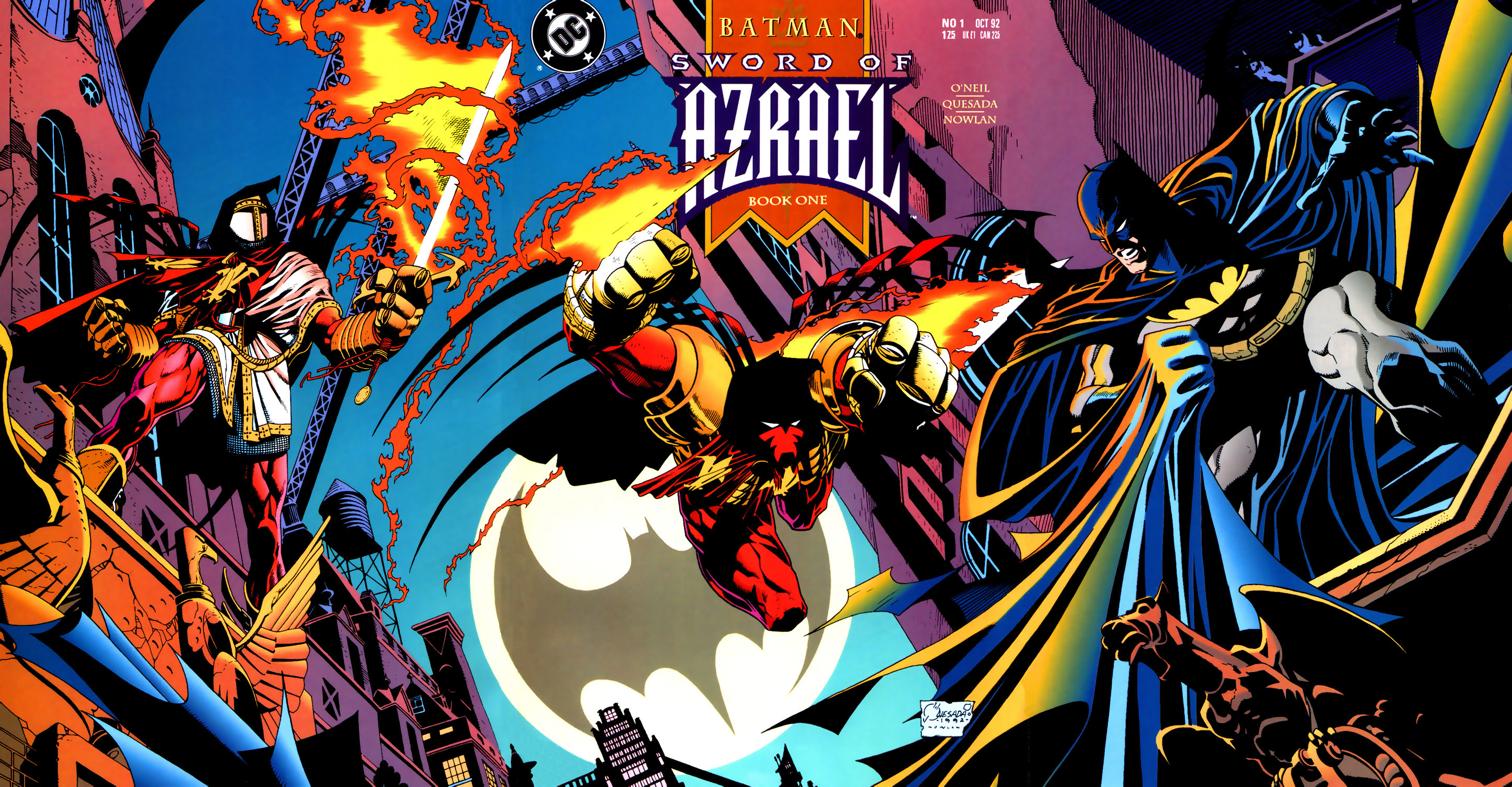 Sword of Azrael 1 Gatefold Cover