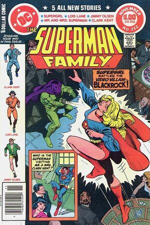 Cover for Superman Family #212 (1981)
