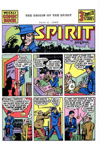 Spirit Newspaper Strip 1