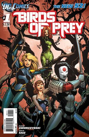 Cover for Birds of Prey #1 (2011)