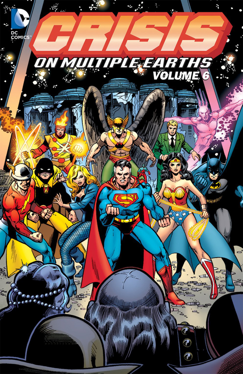 crisis on multiple earths vol  6  collected