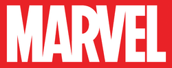 DC Vacation Guide - Marvel logo