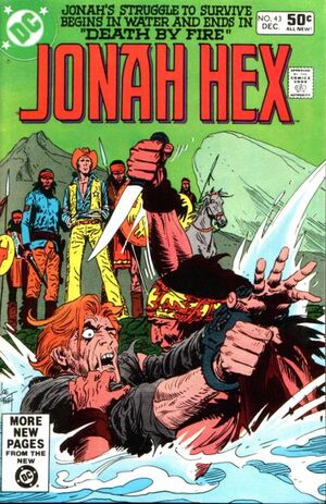 Cover for Jonah Hex #43 (1980)
