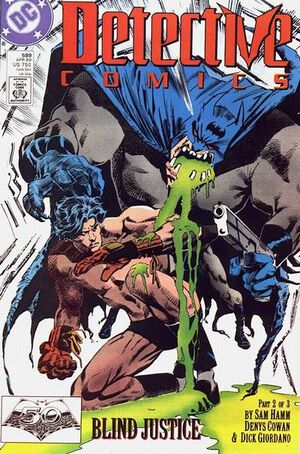 Cover for Detective Comics #599 (1989)