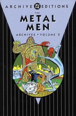 Cover for the The Metal Men Archives Vol. 2 Trade Paperback