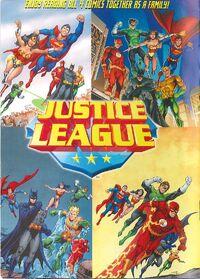 General Mills Presents Justice League Vol 1 Back Cover