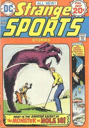 Cover for Strange Sports Stories #6 (1974)