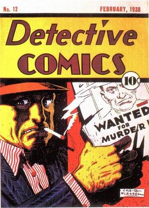 Cover for Detective Comics #12 (1938)