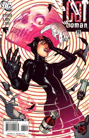 Cover for Catwoman #76 (2008)
