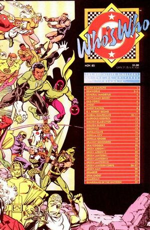 Cover for Who's Who: The Definitive Directory of the DC Universe #9 (1985)