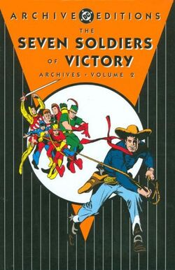 Cover for the The Seven Soldiers of Victory Archives Vol. 2 Trade Paperback