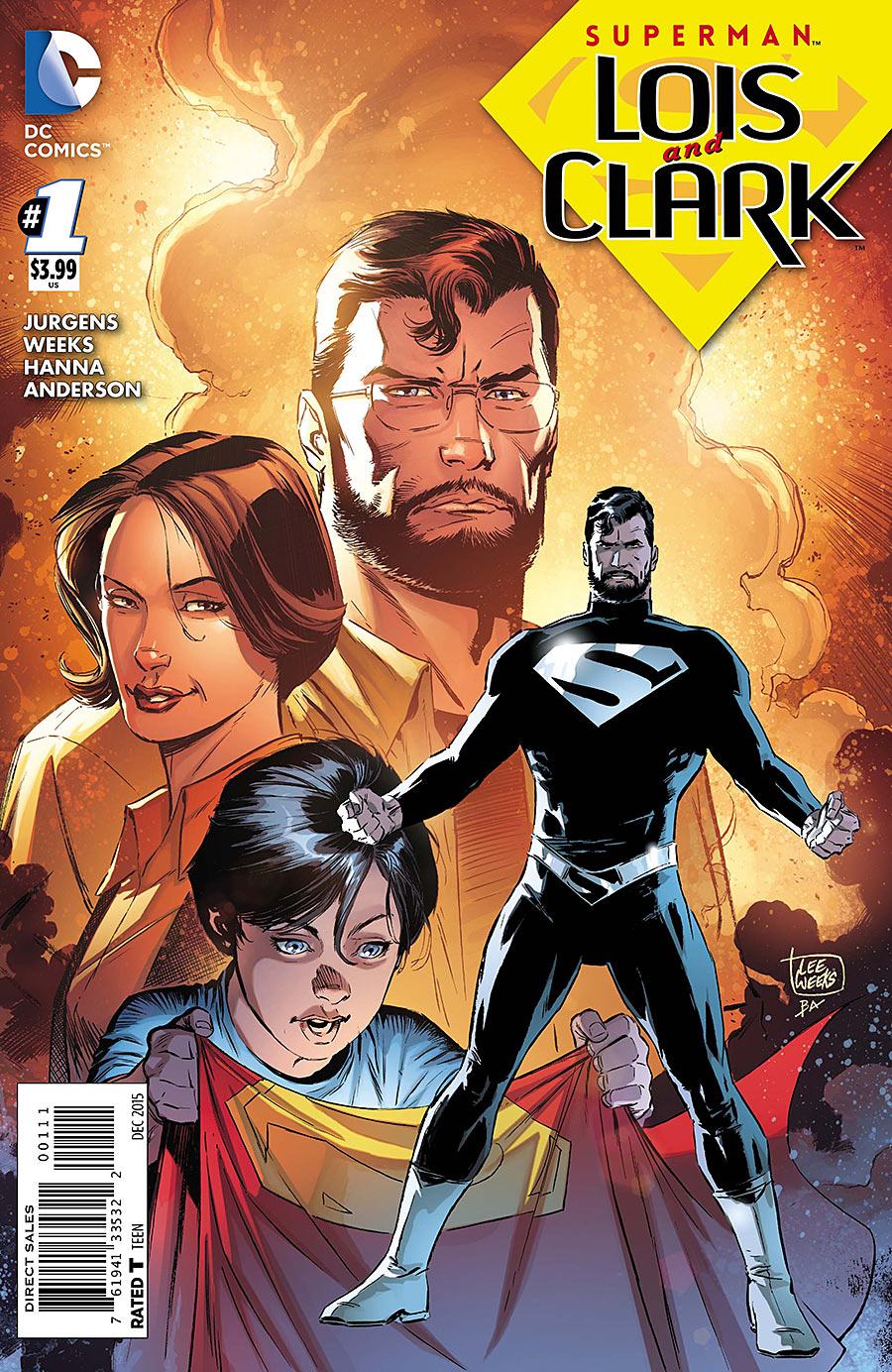 Image result for Superman: Lois and Clark by Dan Jurgens and Lee Weeks