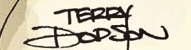 Terry Dodson Signature