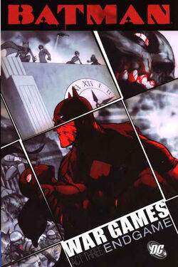 Cover for the Batman: War Games, Act Three - Endgame Trade Paperback