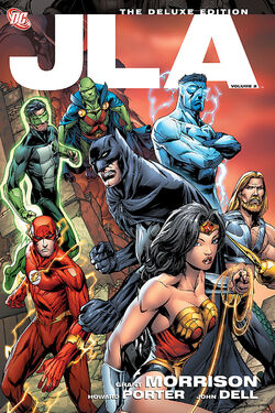 Cover for the JLA: The Deluxe Edition, Vol. 2 Trade Paperback