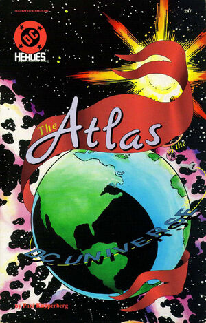 Cover for Atlas of the DC Universe (1990)