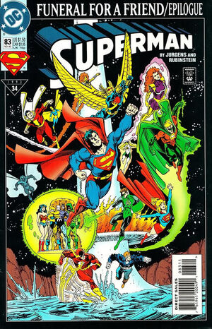 Cover for Superman #83 (1993)