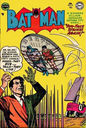 Cover for Batman #81 (1954)
