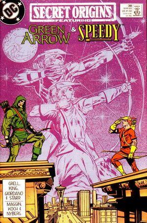 Cover for Secret Origins #38 (1989)