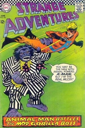 Cover for Strange Adventures #201 (1967)