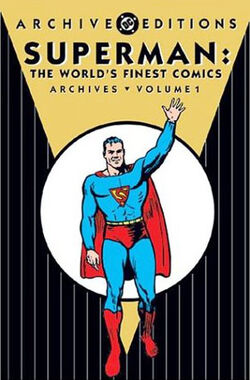 Cover for the Superman: The World's Finest Comics Archives Vol. 1 Trade Paperback