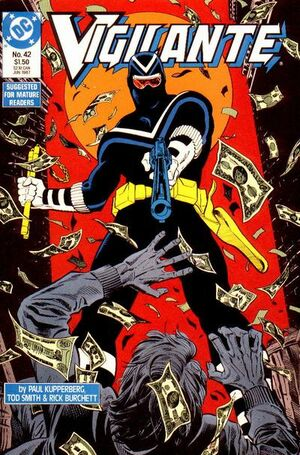 Cover for Vigilante #42 (1987)
