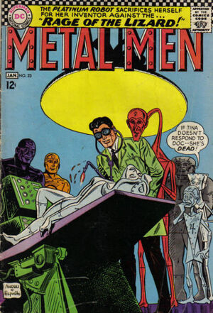 Cover for Metal Men #23 (1967)