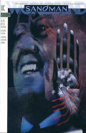 Cover for Sandman #54 (1993)
