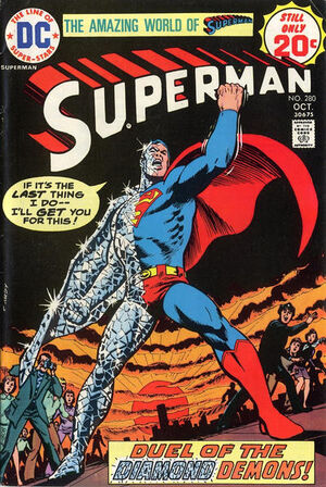 Cover for Superman #280 (1974)