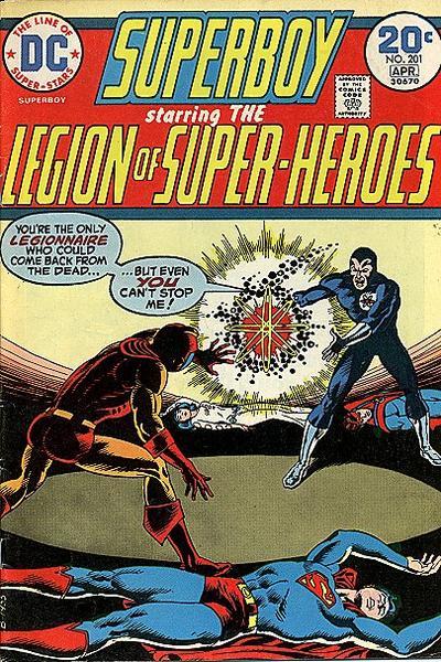 Legion Super-Heroes 201