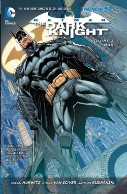 Cover for the Batman: The Dark Knight - Mad Trade Paperback