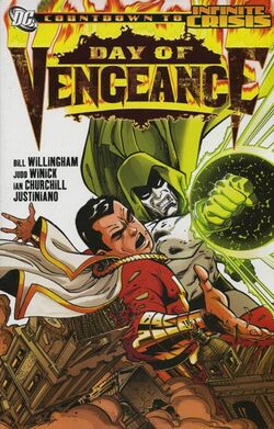 Cover for the Day of Vengeance Trade Paperback