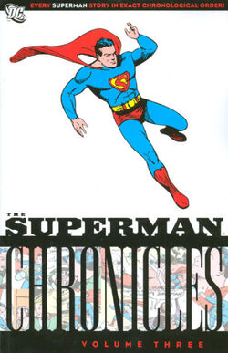 Cover for the Superman Chronicles Vol. 3 Trade Paperback