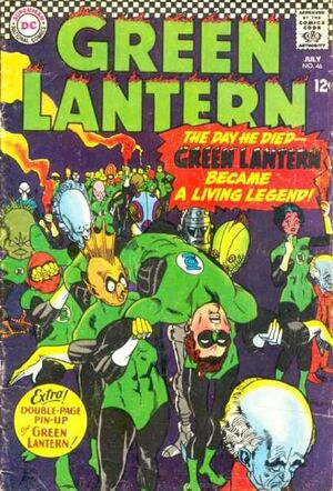 Cover for Green Lantern #46 (1966)