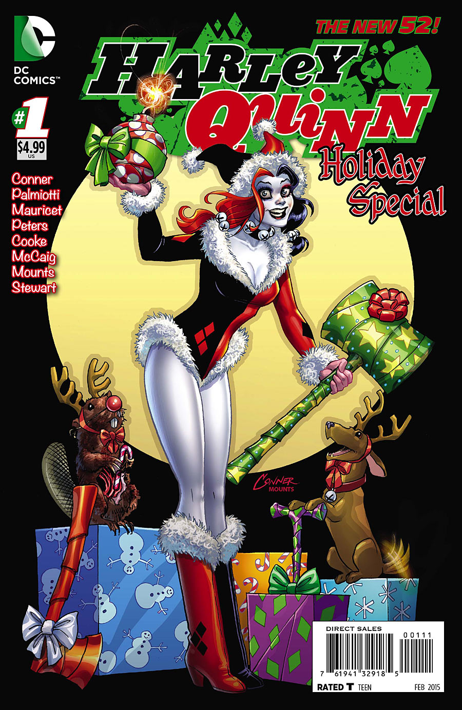 Harley Quinn Holiday Special Vol 1 1 Dc Database