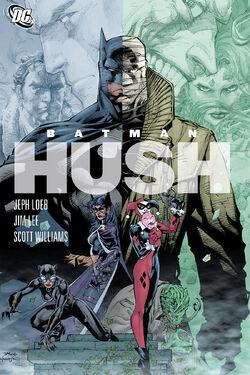 Cover for the Batman: Hush Trade Paperback