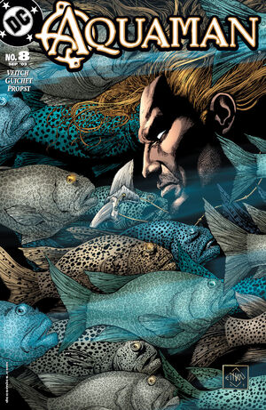 Cover for Aquaman #8 (2003)