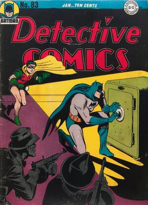 Cover for Detective Comics #83 (1944)