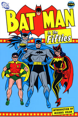 Cover for the Batman in the Fifties Trade Paperback