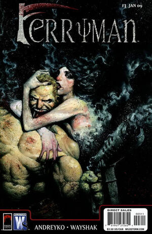 Cover for Ferryman #3 (2009)