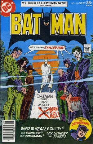 Cover for Batman #291 (1977)